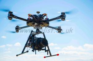 READY TO FLY Vulcan UAV Raven Heavy Lift X8 Drone