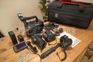 Sony PXW-FS7 4k Camcorder (Low usage) + Extras