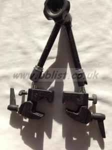 Magic arm with 2xK clamps