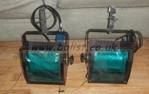 2x James Thomas Cyc-Lite 500 Watt Lights