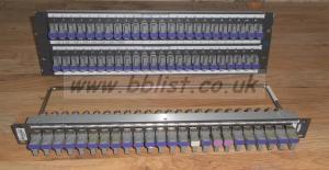 2x TSL 3G/HD Video Patch panels+ U-Links