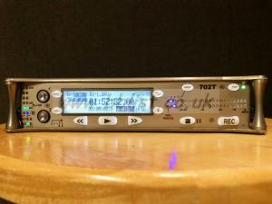 Sound Devices 702T Recorder with Petrol bag and 16 GB CF