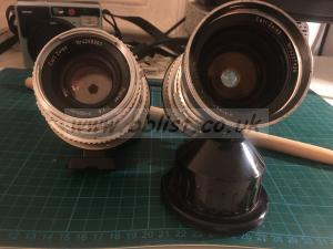 HASSELBLAD Zeiss Lenses V - 80mm Planer & 50mm Distagon