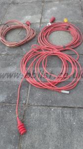 3x Triax Reel Lemo Cables