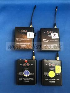 Audio Engineering - Micron Radio Mic Set.