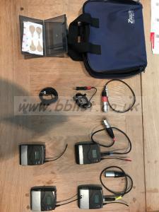 SENNHEISER SK100 Bodypack transmitter pair