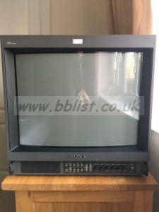 WANTED: CRT MONITORS ONLY SONY PVM/BVM JVC IKE FAULTY/WORKIN