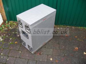 Case Design 19 inch 6U welded aluminium Transit case (y)
