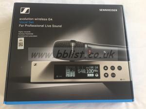 Sennheiser EW 100 G4 Transmitter and receiver set