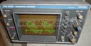 Philips pal composite waveform scope
