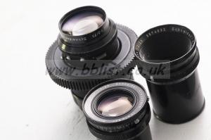 Schneider-Kreuznach vintage cine lens set