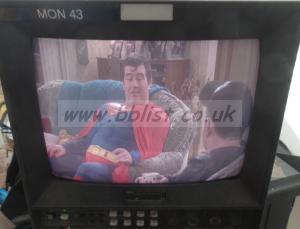 Ikegami TM10-17 10inch colour monitor RGB/composite