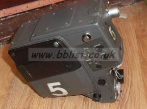 Sony fisher triax camera back for bvp-550/570p