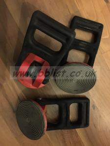 Sachtler rubber feet for 100mm and 150mm tripods