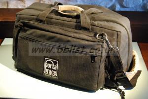 Portabrace Camcorder Bag, black, good condition