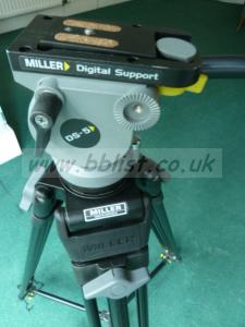 MILLER Digital Support DS5 Pro Camcorder Tripod + HEAD +FEET