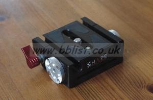 Shape FS7 / FS5 Lightweight Baseplate