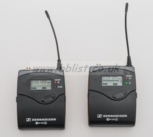 Sennheiser G2 EW100 Radio Mic Camera Complete Kit
