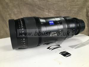 ZEISS CZ-2 Compact Zoom 70-200mm T2.9 4K PL lens