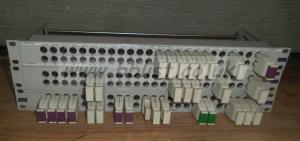 3x Media Broadcast 3G HDSDI 1u Video patch Panels