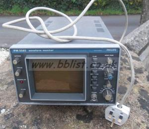Philips Pm5565 Pal Composite Waveform Video Scope