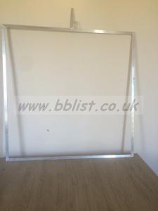 NEW 4'x4' ( 120cm x 120cm ) Aluminium Trace Frame