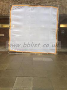 Used 12' x 12' FULL Silk Diffusion cloth
