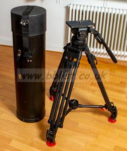 Sachtler Video 20P Fluid head + tripod Heavy Duty legs