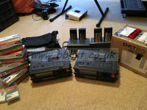 2 X HHB PDR 1000 TC DAT PLAYER/RECORDER (PERFECT CONDITION)
