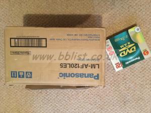 Panasonic DVD ram discs x 80