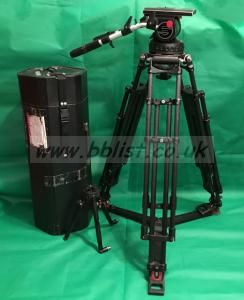 Satchler Video 25 11 Fluid Head with 150mm bowl and legs