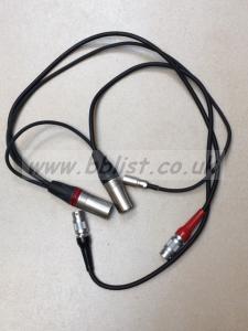 Audio Ltd 2040 Dual Output Receiver Cable