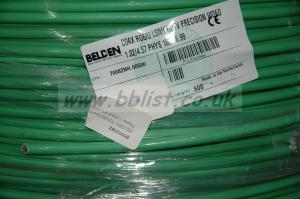 Belden 70082NH HDTV-Coax 75ohm, Green
