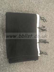 12' x 12' Black Drape