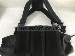 Field mixer/recorder bag with harness