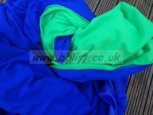 Reversable Lastolite chroma blue/green curtain (3x7m)