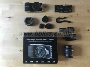 BlackMagic Pocket Cinema Camera (HD only)