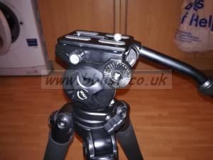 Miller Safari R1110 tripod carbon fibre fluid head