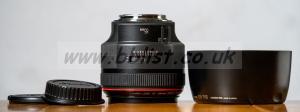 Canon EF 85mm. F1.2 L ii lens