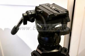 Miller 15 Compass head + solo 75 3-stage carbon fibre tripod
