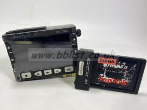 Sound Devices PIX240i prores 4444 recorder with 240gb Caddy