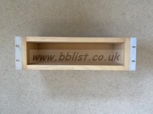 "19"" Rack Mountable Wooden Storage Unit"