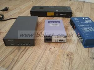 Lot of 4x portable SD and analogue video units