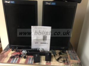 Anchor Audio Speaker MPB-4500 / MPA-4500  output 120watts