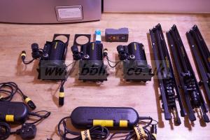 Dedolight DLH4 24 volt Kit 3 x Dedo lighting kit