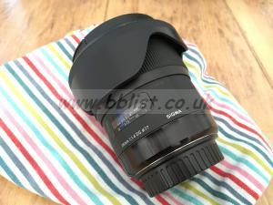 Sigma 24mm f1.4 ART series EF mount lens