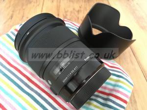 Sigma 50mm f1.4 ef mount Art lens