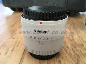 Canon 2x extender ef 2x 111