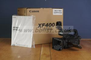 Canon XF400 4K Camcorder - Dual Pixel Autofocus - Mint