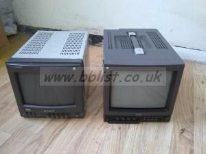 2x JVC/Sony 9inch monitors